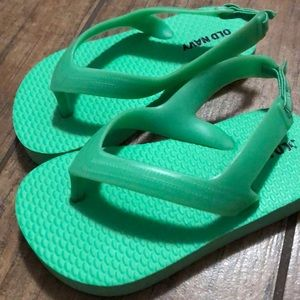Old Navy Toddler Flip Flops - Size 6